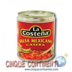 Salsa messicana casera La Costeña