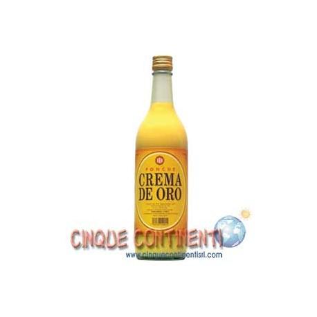 Ponche Crema de Oro