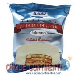 Alfajores Mardel Blancos