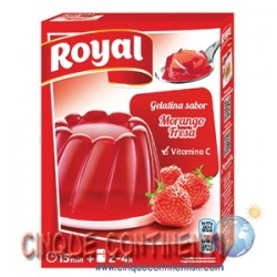 Gelatina fragola Royal