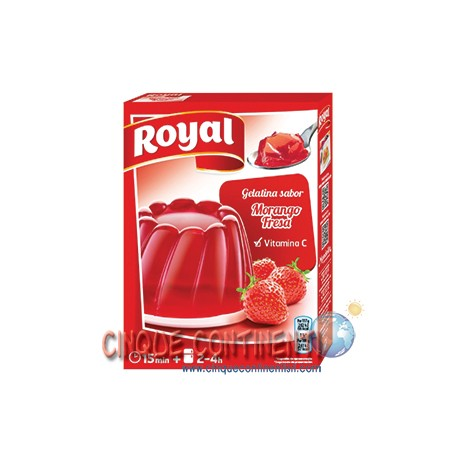 Gelatina Royal fragola