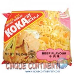 Noodle istantanei al manzo Koka