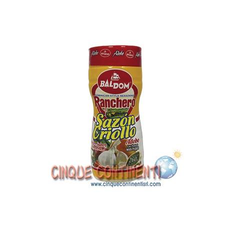Sazon Ranchero Criollo con pimienta