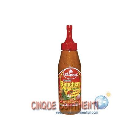 Sazon Ranchero liquido picante Baldom