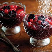 gelatina al vino rosso