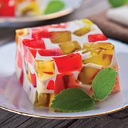 mosaico di gelatina