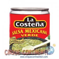 Salsa mexicana verde La Costeña