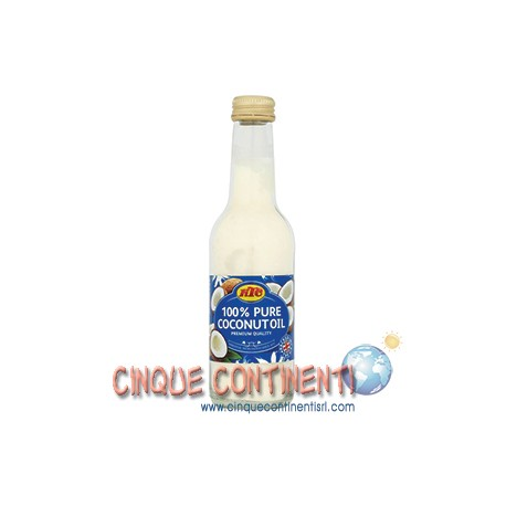 Olio di cocco bottiglia