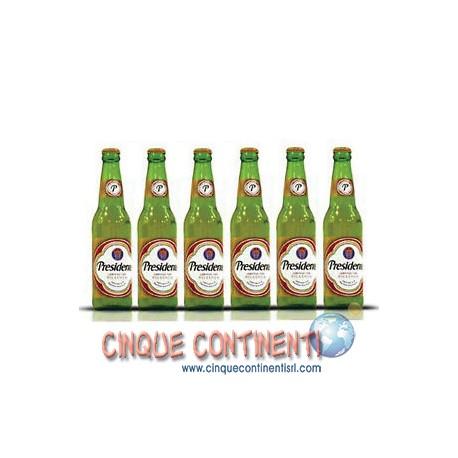 Birra Presidente 6 Bottiglie