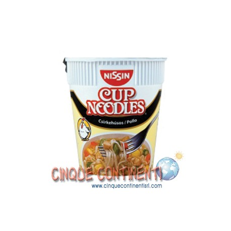 Nissin cup noodles pollo