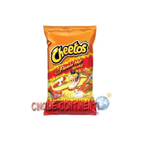 Cheetos crunchy flamin' hot