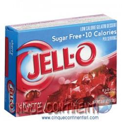 Gelatina ciliegia Jello senza zucchero