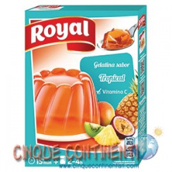 Gelatina Royal tropical