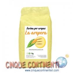 Farina di mais giallo per arepas