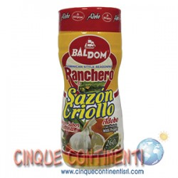 Sazon Ranchero Criollo con pimienta Baldom