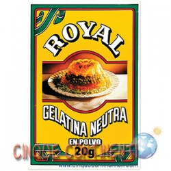 Gelatina Royal neutra