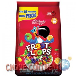 Froot Loops Kellogg's bag