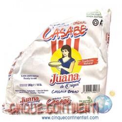 Casabe de yuca Juana